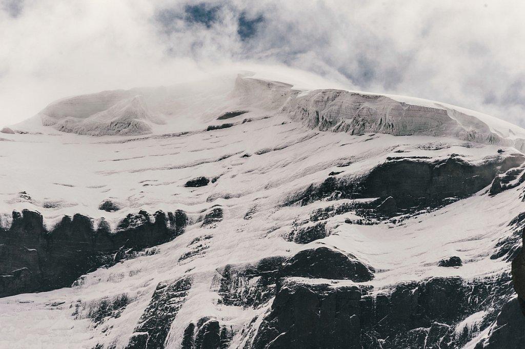 Вершина западного лица г. Кайлаш. Август 2011г.