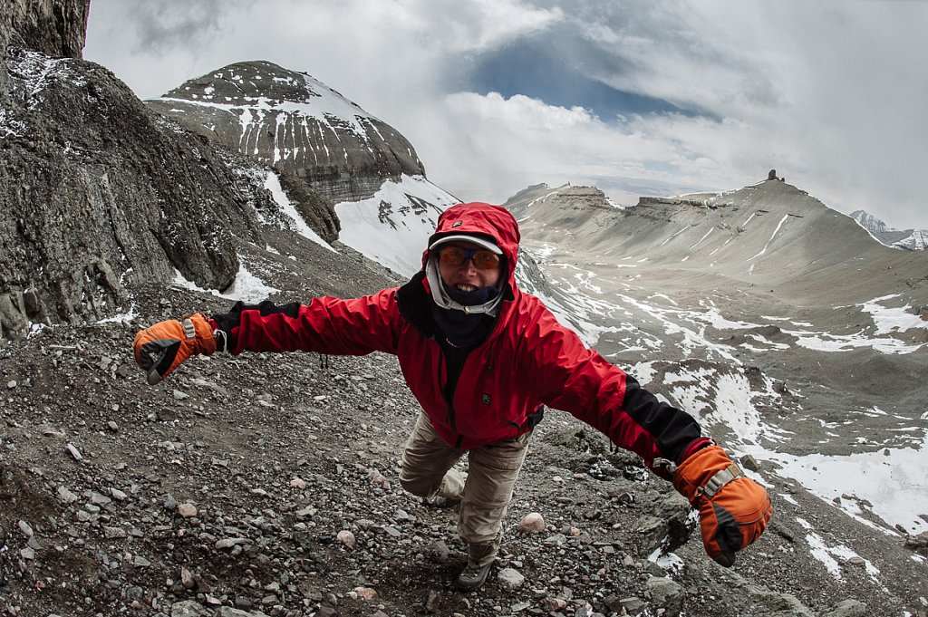 Тибет. Внутренняя кора г. Кайлаш. Май 2009г.